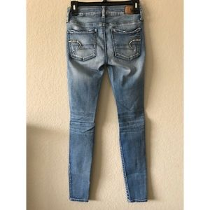American Eagle Outfitters Jeans - AE Destroyed Jegging